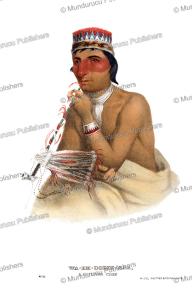 Waemboeshkaa, a Chippewa chief, Thomas McKenney, 1872 | Photos and Images | Travel