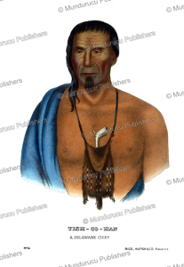 Tishcohan, a Delaware chief, Thomas McKenney, 1872   Photos and Images   Travel