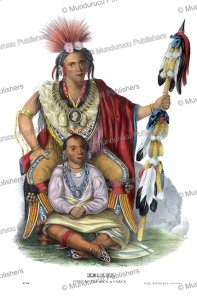 Keokuk, chief of the Sacs and Foxes Indians, Thomas McKenney, 1872 | Photos and Images | Travel
