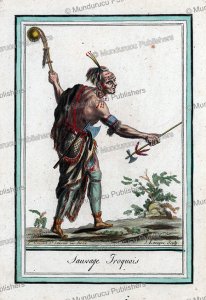 Iroquois savage, Jacques Grasset de Saint-Sauveur, 1795 | Photos and Images | Travel