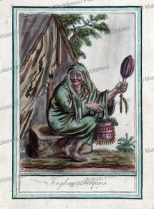 Iroquois shaman, Jacques Grasset de Saint-Sauveur, 1795 | Photos and Images | Travel