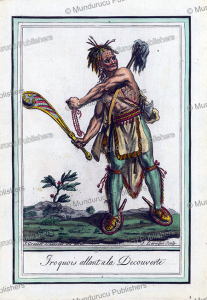 Iroquois warrior, Jacques Grasset de Saint-Sauveur, 1795 | Photos and Images | Travel