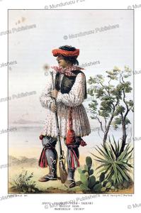 Seminole chief Noco Shimatt Tash Tanaki (Grizzly Bear), Arthur Schott, 1857 | Photos and Images | Travel