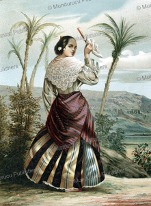 chichirica indian of the philippine island, mun~ez ma´laga, 1876