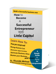 How to become a successful Entrepreneur with little capital | eBooks | Business and Money