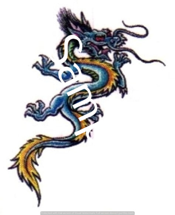 First Additional product image for - Dragons - Craft papers for cardmaking and scrapbooking.