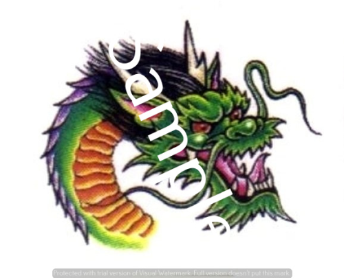 Second Additional product image for - Dragons - Craft papers for cardmaking and scrapbooking.