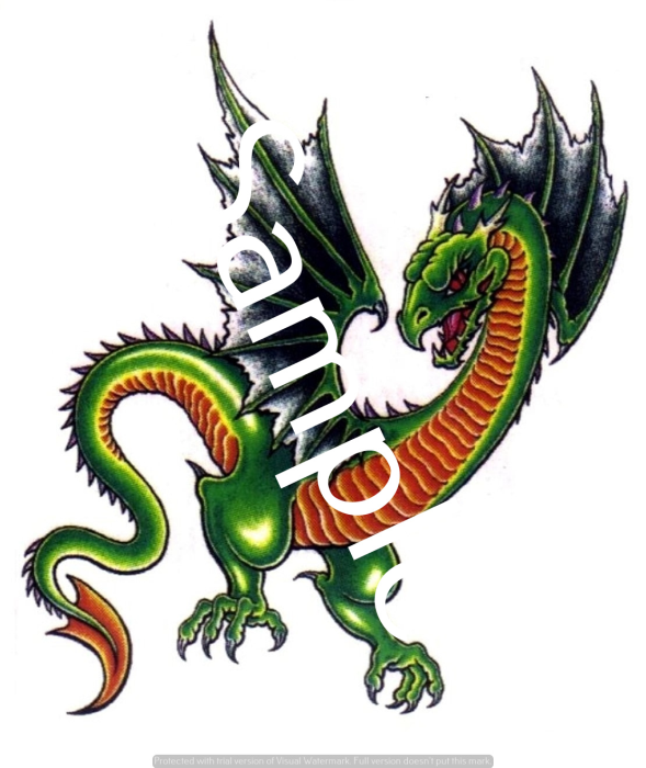 Third Additional product image for - Dragons - Craft papers for cardmaking and scrapbooking.