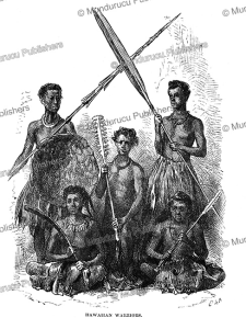 hawaiian warriors, charles nordhoff, 1874
