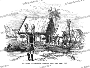 hawaiian temple or murai, charles nordhoff, 1874
