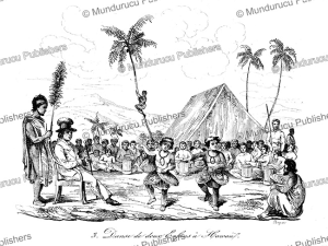 children dancing on hawaii, louis auguste de sainson, 1834