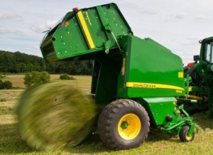 download john deere 623, 644 hay and forage round balers all inclusive diagnostic and test technical service manual (tm300319)
