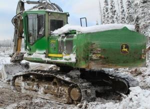 download john deere 2454d road builder delimber technical service repair manual (tm10418)