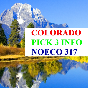 colorado pick 3 info updated 12-13-2019
