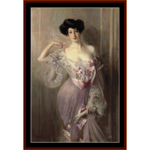 ena wertheimer - boldini cross stitch pattern by cross stitch collectibles