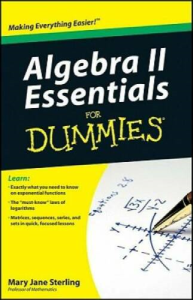 Algebra II Essentials for Dummies | eBooks | Education