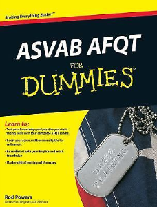 ASVAB AFQT for Dummies | eBooks | Other