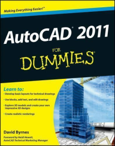 AutoCAD 2011 for Dummies | eBooks | Technical