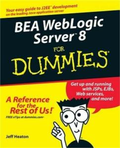 BEA WebLogic Server 8 for Dummies | eBooks | Technical