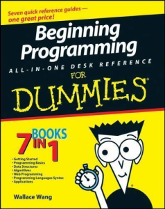 Beginning Programming All-In-One Desk Reference for Dummies | eBooks | Technical