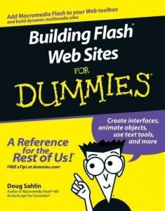 Building Flash Web Sites for Dummies | eBooks | Technical