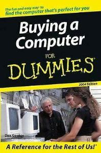 buying a computer for dummies 2004 edition