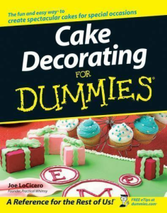 Cake Decorating for Dummies | eBooks | Food and Cooking