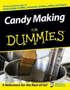 Candy Making for Dummies | eBooks | Food and Cooking