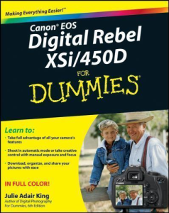 canon eos digital rebel xsi - 450d for dummies