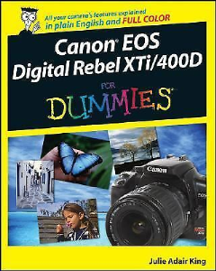 canon eos digital rebel xti - 400d for dummies