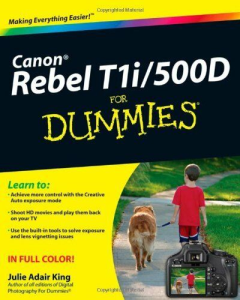 canon eos rebel t1i - 500d for dummies