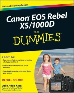 canon eos rebel xs - 1000d for dummies