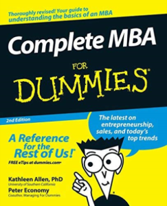 Complete MBA for Dummies | eBooks | Education