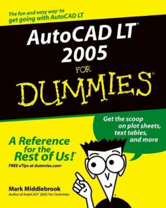 autocad lt x for dummies
