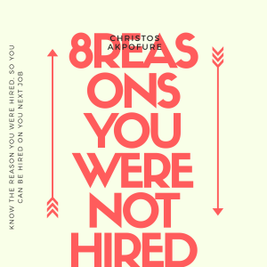 8 Reason you were not hired | eBooks | Business and Money