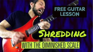 shredding with the diminished scale