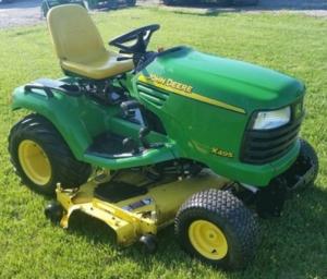 download john deere x495, x595 lawn and garden tractor (export edition) technical service repair manual (tm2158)