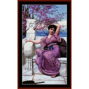 Lassitude - Godward cross stitch pattern by Cross Stitch Collectibles | Crafting | Cross-Stitch | Other