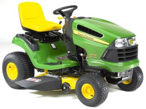 download john deere la100, la110, la120, la130, la140, la150 riding lawn tractor technical service repair manual tm2371