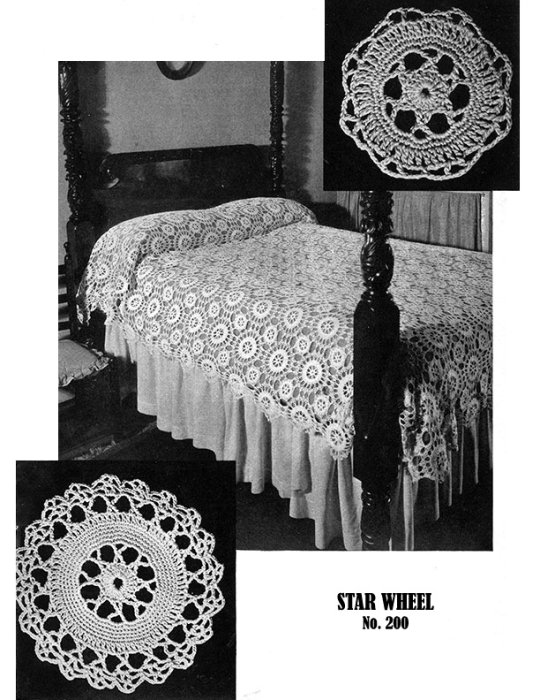 Fourth Additional product image for - Bedspreads | Book No. 85 | The Spool Cotton Company DIGITALLY RESTORED PDF