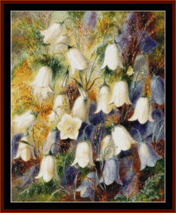 harebells ii - durer cross stitch pattern by cross stitch collectibles