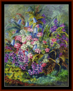 Wild Strawberries - Durer cross stitch pattern by Cross Stitch Collectibles | Crafting | Cross-Stitch | Other