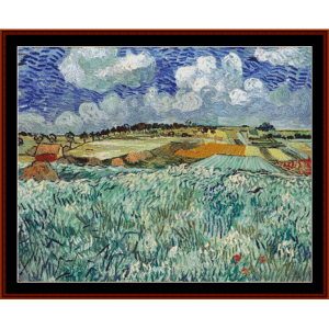 Plain Near Auvers - Van Gogh cross stitch pattern by Cross Stitch Collectibles | Crafting | Cross-Stitch | Other