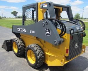download john deere 318e 319e 320e 323e skid steer & compact track loader manual controls technical service repair manual tm13010x19