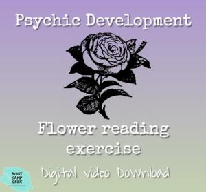 psychic development flower reading exercise