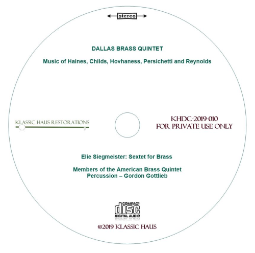 Third Additional product image for - Dallas Brass Quintet