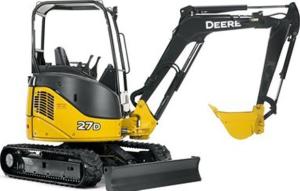 download john deere 27d compact excavator technical service repair manual tm2356