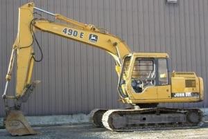 download john deere 490e excavator diagnostic, operation and test service manual tm1504