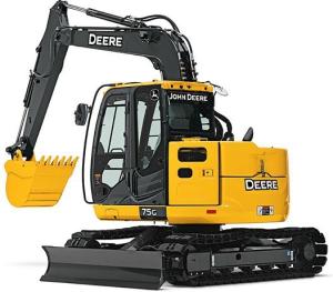 download john deere 75g (ft4) compact excavator technical service repair manual tm12876