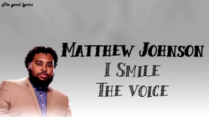 i smile inspired by matthew johnson on the voice custom arranged for full band, horns and back vocals.